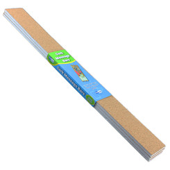 FLIPSIDE PRODUCTS CORK MESSAGE BARS 2IN X 20IN 3/SET