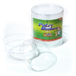 FUN SCIENCE PETRI DISHES EXTRA DEEP PACK OF 4