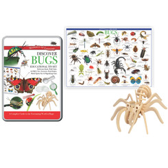 WONDERS OF LEARNING TIN SET DISCOVER BUGS