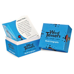 WORDTEASERS WORDTEASERS FLASH CARDS WORLD