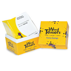 WORDTEASERS WORDTEASERS FLASH CARDS FUNNY