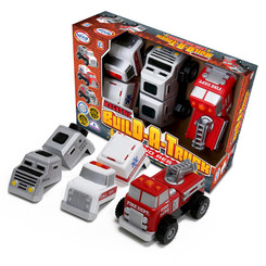 POPULAR PLAYTHINGS BUILD A TRUCK RESCUE