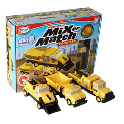POPULAR PLAYTHINGS CONSTRUCTION VEHICLES