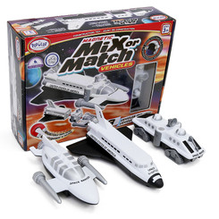 POPULAR PLAYTHINGS MAGNETIC VEHICLES SPACE