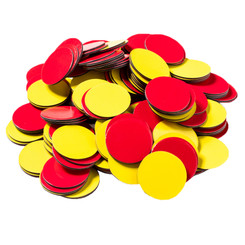 DOWLING MAGNETS (3 PK) MAGNETIC TWO COLOR COUNTERS 732190BN