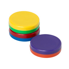 DOWLING MAGNETS BIG BUTTON MAGNETS SET OF 3