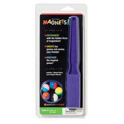 DOWLING MAGNETS MAGNET WAND AND 5 MAGNET MARBLES