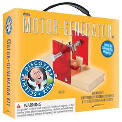 DOWLING MAGNETS SCIENCE KIT ELECTRIC MOTOR