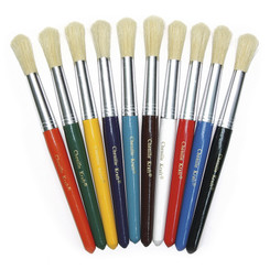 CREATIVITY STREET COLOSSAL BRUSHES SET OF 10 ASSORTED