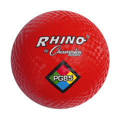 CHAMPION SPORTS PLAYGROUND BALL 8 1/2IN RED