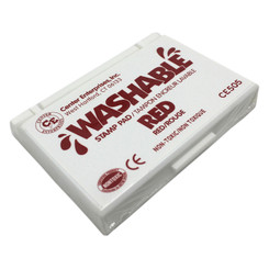 READY 2 LEARN STAMP PAD WASHABLE RED