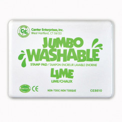 READY 2 LEARN JUMBO STAMP PAD LIME GREEN WASHABLE