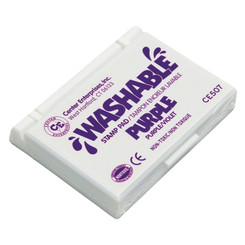 READY 2 LEARN (6 EA) STAMP PAD WASHABLE PURPLE 507BN