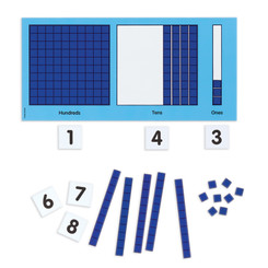 DIDAX MAGNETIC BASE 10 PLACE VALUE SET