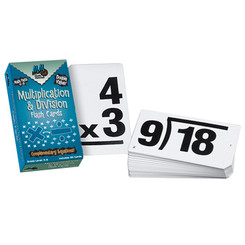 LEARNING ADVANTAGE DOUBLE VALUE VERTICAL FLASH CARDS