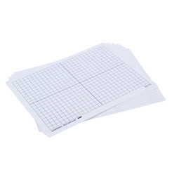 LEARNING ADVANTAGE XY AXIS DRY ERASE BOARDS SET OF 10