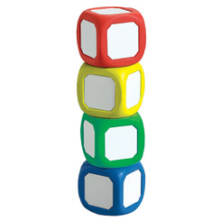LEARNING ADVANTAGE MAGNETIC WRITE-ON WIPE-OFF DICE SET