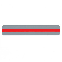ASHLEY PRODUCTIONS READING GUIDE STRIPS RED