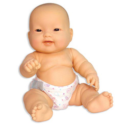 JC TOYS LOTS TO LOVE BABIES 14IN ASIAN BABY