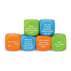 LEARNING RESOURCES LETS TALK CUBES