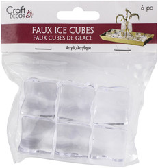 MULTICRAFT IMPORTS CD714 LARGE -FAUX ICE CUBES