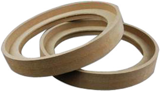 NIPPON RING65BZ Nippon 6.5 MDF Speaker Ring Recess with Bezel (Pair)