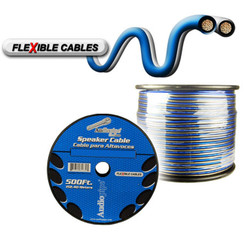 NIPPON CABLE14BLS500 Audiopipe 14 Gauge Flexible Speaker Cable 500Ft