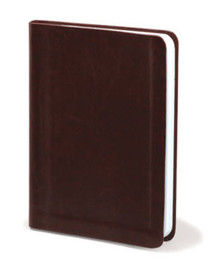 Faux Leather Brown - Blank Journal *