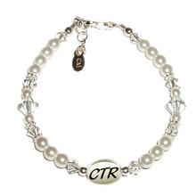 CTR Bracelet (White Pearl) *