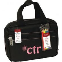 CTR Black with Pink Flower Scripture Case Regular