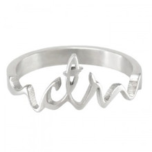 Cursive CTR Ring (Stainless Steel) *