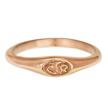 Micro Mini CTR Ring - Rose Gold (Stainless Steel) *