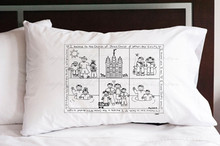 Baptism Pillowcase (w/ crayons) *