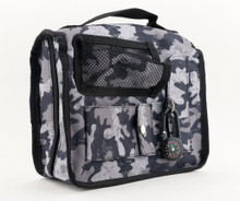 Collin Camo Tote Grey