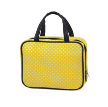 Tenley Yellow Polka Dot Tote