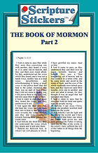Scripture Stickers Book of Mormon Part 2