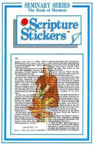 Scripture Stickers Seminary Book of Mormon