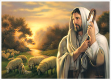 The Lord Is My Shepherd 3x4 *