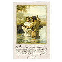 John Baptizing Jesus  Program Cover *