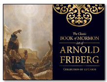 The Classic Book of Mormon Art of Arnold Friberg Minicard Pack (3x4 Print)