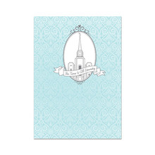 Time & Eternity Wedding Card