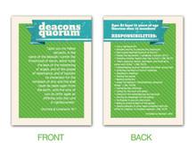 Deacons Quorum Pocket Card