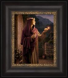 Behold, He Cometh 12x14 Framed Strata Design by Simon Dewey  *