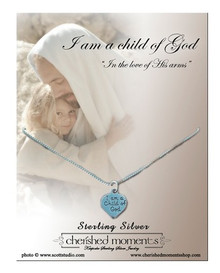 """Necklace Child of God 14"""" Chain with Charm"""
