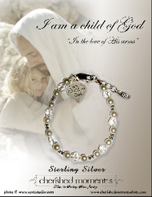 Child of God Bracelet with sm Heart Charm*