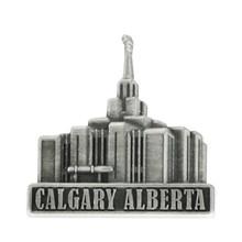 Calgary Alberta Temple Pin Silver *