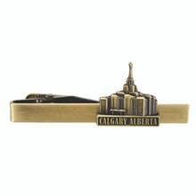 Calgary Alberta Temple Tie Clip Gold *