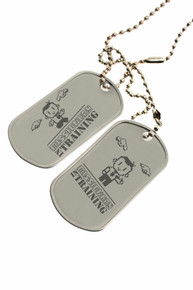Missionary in Training - Dog Tags *