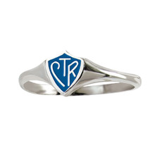 """Mini"""" Classic design"""" CTR Ring - Blue (Stainless Steel)*"""