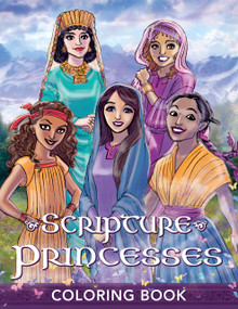 Scripture Princesses Coloring Book  (Paperback) *